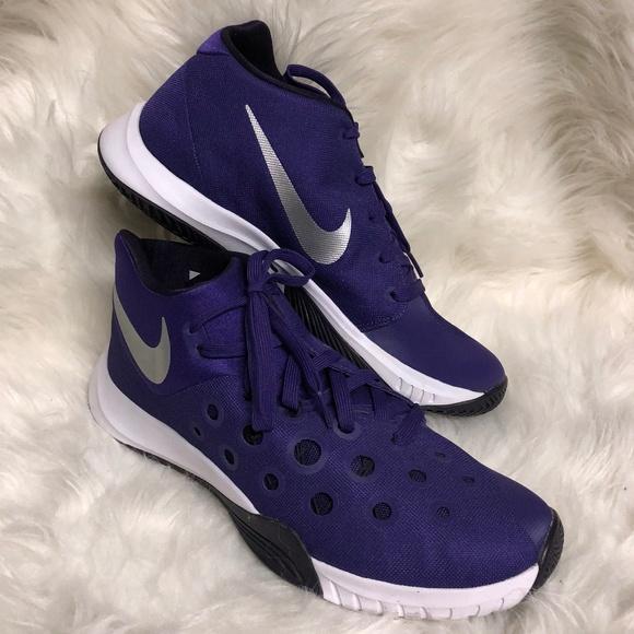 a344313f423b Mens Nike Zoom Sneakers purple size 11 NWOT. M 5c3db992df0307fb9d231241